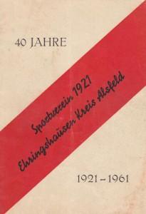 40 Jahre SVE Festschrift
