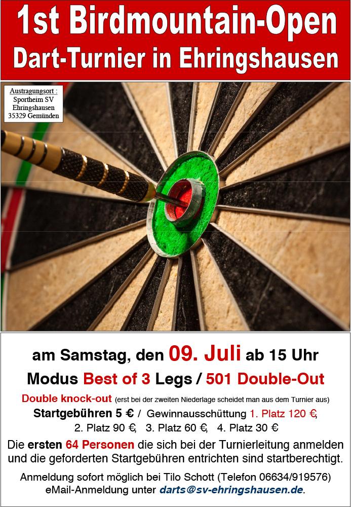 Dart-Turnier _Open_